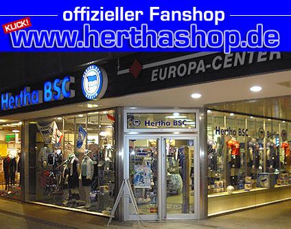 Fanshop Hertha Bsc