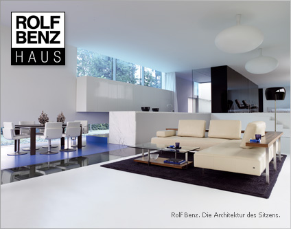 rolf benz haus exklusive m bel m bel einrichtungen shopping berlin kurf rstendamm. Black Bedroom Furniture Sets. Home Design Ideas
