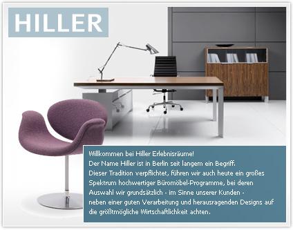 HILLER Einrichtungen und Konzepte GmbH Büroeinrichtung - Büromöbel ...