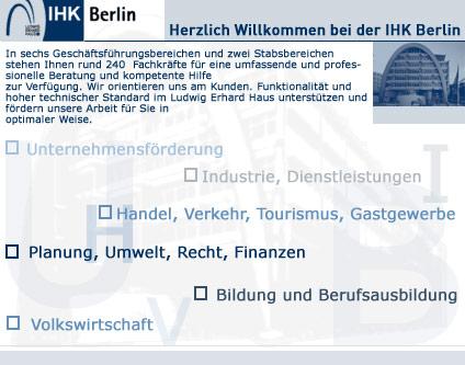 Ihk Verwaltung Ihk Berlin Verbändevereine Dienstleister Berlin
